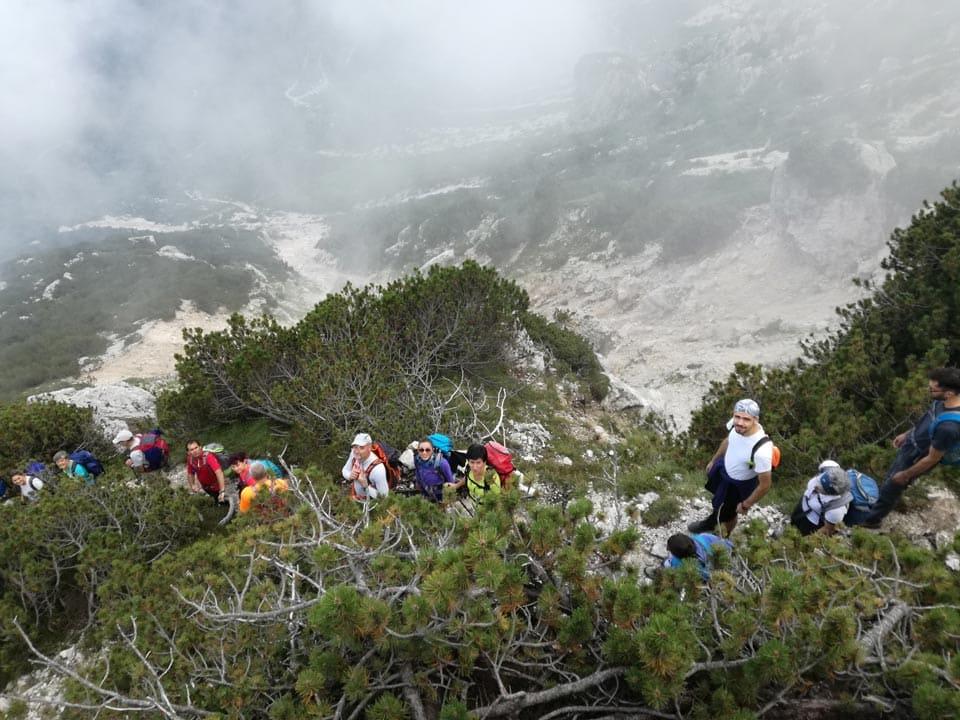 Gruppo del Carega - Passo Tre Croci 9 Settembre 2018