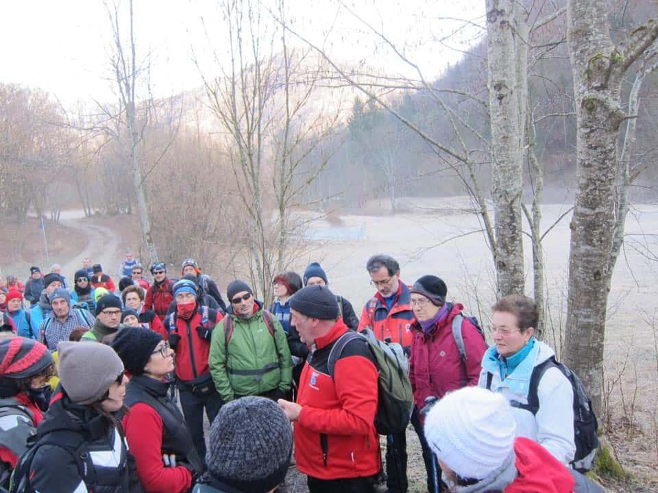 Laghi-Escursione d'apertura anno 28-01-2018