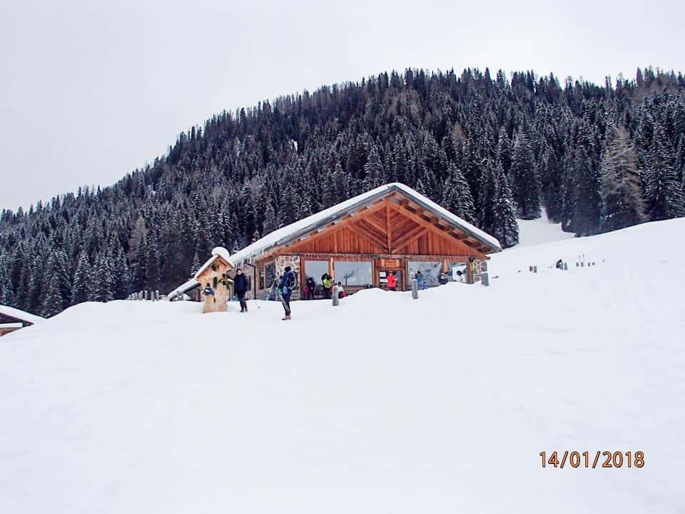 Pale di San Martino - 14 Gennaio 2018