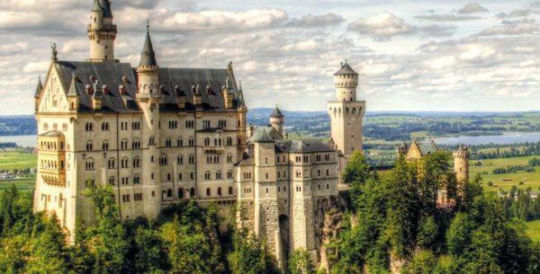 Zugspitze e castelli bavaresi