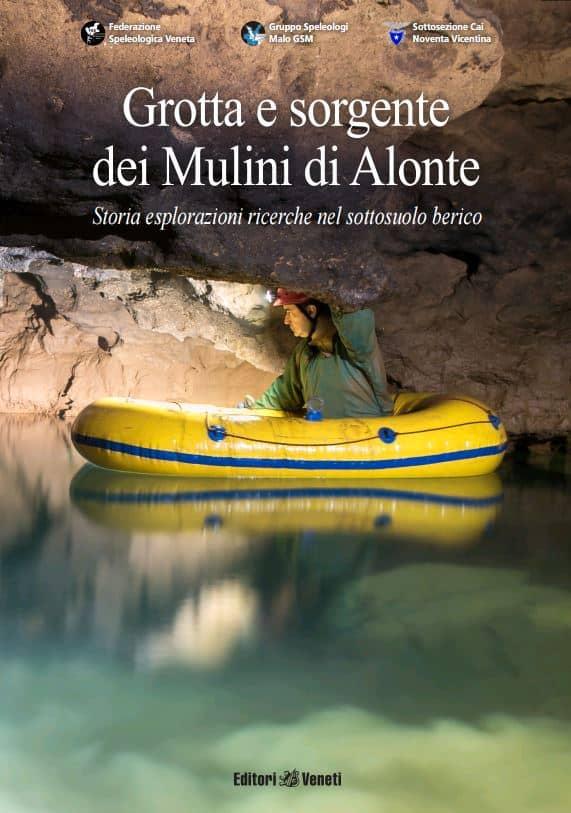 Copertina – Grotta e sorgente dei Mulini di Alonte