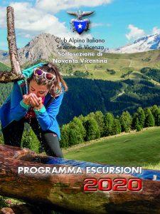 COPERTINA Programma escursioni 2020